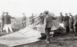 France? Aviation Accident De Leon Versepuy Crash Ancienne Carte Photo 1910's - Aviation