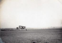 France Issy-les-Moulineaux Aviation Biplan Maurice Clement Bayard En Vol Ancienne Photo 1909 - Aviation