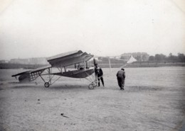 France Issy Aviation John Moisant Aeroplane En Aluminium Ancienne Photo 1910 - Aviation