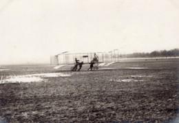 France Issy? Aviation Aeroplane Biplan Cesar Ancienne Photo 1910 - Aviation