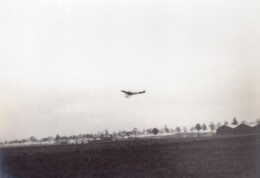 France Aviation Monoplan Bleriot? Atterrissage? Ancienne Photo 1910 - Aviation