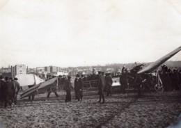 France Aviation Emile Dubonnet Sur Monoplan Tellier Ancienne Photo 1910 - Aviation