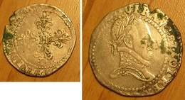 Henri III - Franc - 987-1789 Royal
