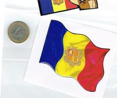 ADHESIVE Drapeaux Flag 3D Avec Silicone Relief - Unclassified