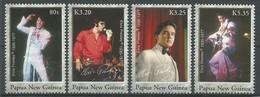 2006 Papua New Guinea Elvis Presley Set, Minisheet And Souvenir Sheet (** / MNH / UMM) - Elvis Presley