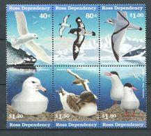 240 TERRE DE ROSS (Nle Zelande) 1997 - Yvert 50/55 - Oiseau Antarctique - Neuf ** (MNH) Sans Charniere - Dépendance De Ross (Nouvelle Zélande)