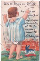 Cpa à Système : N'as Tu Jamais Vu Epinal (88) - Lève Ma Chemise Et Tu Verras Sans Te Déranger - Mechanical