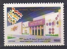 1993-Syria-40th International Fair-  MNH** - Syria