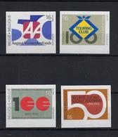 N°2585ND/2588ND (genummerd 492) MNH ** POSTFRIS ZONDER SCHARNIER COB € 40,00 SUPERBE - Belgique