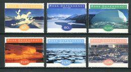 240 TERRE DE ROSS (Nle Zelande) 1998 - Yvert 60/65 - Formation De Glace Sculpture Iceberg - Neuf ** (MNH) Sans Charniere - Neufs