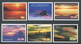 240 TERRE DE ROSS (Nle Zelande) 1999 - Yvert 66/71 - Couche De Soleil - Neuf ** (MNH) Sans Charniere - Neufs