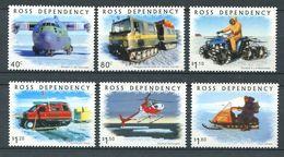 240 TERRE DE ROSS (Nle Zelande) 2000 - Yvert 72/77 - Moyen De Transport A Ross - Neuf ** (MNH) Sans Charniere - Neufs