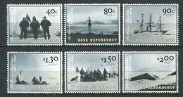240 TERRE ROSS (Nle Zelande) 2002 - Yvert 84/89 - Expedition Antarctique Traineau Bateau - Neuf ** (MNH) Sans Charniere - Neufs