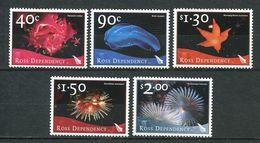 240 TERRE DE ROSS (Nle Zelande) 2003 - Yvert 90/94 - Oursin Etoile De Mer Ver ... - Neuf ** (MNH) Sans Charniere - Neufs