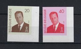 N°2559ND/2560ND (genummerd 500) MNH ** POSTFRIS ZONDER SCHARNIER COB € 80,00 SUPERBE - Belgique