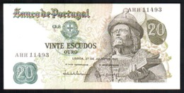 Portugal 20 Escudos 1971 UNC FdS - Portugal