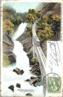 Suisse - Meiringen - Reichenbachfalle Mit Bahn In 1904 - BE Berne
