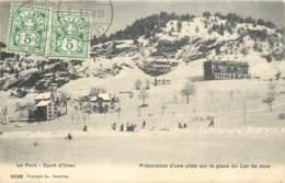 Suisse - Le Pont - Sport D'hiver En 1906 - VD Vaud