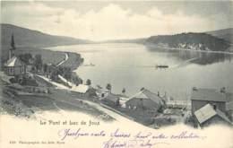 Suisse - Le Pont - Lac De Joux En 1903 - VD Vaud