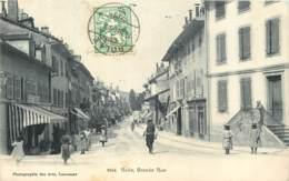 Suisse - Rolle - Grande Rue En 1906 - Animée - VD Vaud