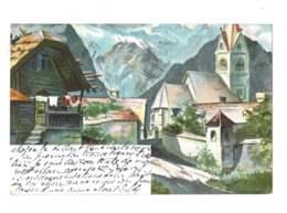 Village De Montagne - 5364 - Paintings
