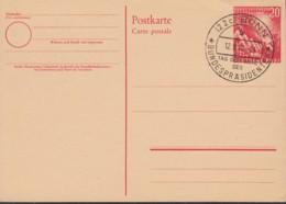 BRD PSo 2, Mit Sonderstempel: Wahl Des Bundespräsidenten 1949 - [7] République Fédérale