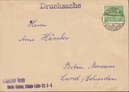 BERLIN 47 I EF, Auf Drucksache Des Botanischen Vereins, Gestempelt: Berlin-Dahlem 11.1.1952 - Briefe U. Dokumente