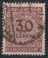 DR 320 A, Gestempelt, Geprüft, Rosettenmuster 1923 - Deutschland