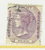 BRITISH  INDIA  21  Perfs,    (o)  Wmk.  Elephant  Head - 1858-79 Crown Colony