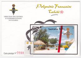 """PF65 A (encart) - Iaorana Villa / Taaone Villa - GEM 10 / 1A - NSB - N° 0998 - """"rare"""" - French Polynesia"""