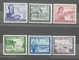 1944 Charity Stamps,  Deutsches Reich, Germany, MNH - Ungebraucht