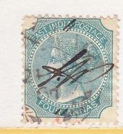 BRITISH  INDIA  26  Type I     (o)  Wmk.  Elephant  Head - 1858-79 Crown Colony