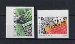 N°2547ND/2548ND (genummerd 500) MNH ** POSTFRIS ZONDER SCHARNIER COB € 20,00 SUPERBE - Belgique