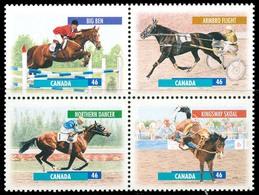 Canada (Scott No.1794a - Chevaux Canadiens / Canadian Horses) [**] - 1952-.... Règne D'Elizabeth II