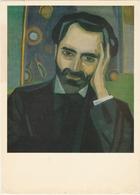 Painter Peintre URSS USSR Armenia Arménie Martiros Saryan Portrait Du Poète Poet Alexander Tsaturian 1915 - Artisti