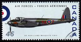 Canada (Scott No.1808a - De Havilland Mosquito F.B.VI) (o) - 1952-.... Règne D'Elizabeth II
