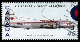 Canada (Scott No.1808e - CL-28 Argus MK 2) (o) - 1952-.... Règne D'Elizabeth II