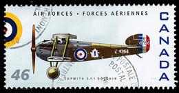 Canada (Scott No.1808h - Sopwith 5.F.1 Dolphin) (o) - 1952-.... Règne D'Elizabeth II