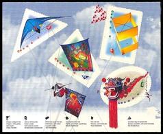 Canada (Scott No.1811a-d - Cerf-volant /Kites) [**] Booklet Pane - Neufs