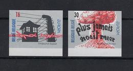 N°2597ND/2598ND (genummerd 492) MNH ** POSTFRIS ZONDER SCHARNIER COB € 100,00 SUPERBE - Belgique