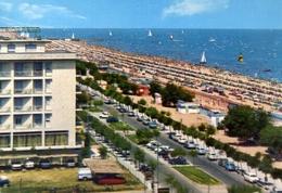Riccione - L'immensa Spiaggia - Formato Grande Viaggiata – E 9 - Rimini