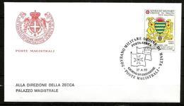 1992 ORDINE DI MALTA SMOM  Ciad PA    FDC  Viaggiata Bellissima - Malte (Ordre De)