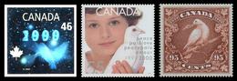 Canada (Scott No.1812-14 - Millenium) [**] - Neufs