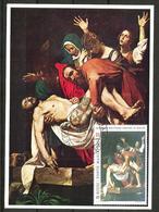 1983 ORDINE DI MALTA SMOM Michelangelo  Cartolina Maximum Bellissima - Malte (Ordre De)