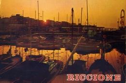 Riccione - Tramonto - Formato Grande Viaggiata – E 9 - Rimini