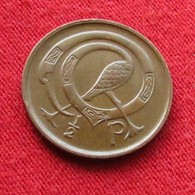 Ireland 1/2 Penny 1980 KM# 19  Irlanda Irlande Ierland Eire - Irlande