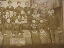 PHOTOGRAPHIE ANCIENNE 1899 : MAISON SOCHOY USINE POIVRE ? INDUSTRIE OUVRIERES METIER 94 - Saint Maur Des Fosses