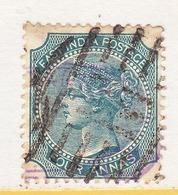 BRITISH  EAST  INDIA  26 B  Type II    (o)  Wmk..  ELEPHANT  HEAD - India (...-1947)