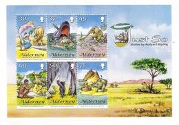 ALDERNEY, BAILIWICK OF GUERNSEY / JUST SO , Stories By RUDYARD KIPLING ( éléphant, Chat, Girafe... ) / Faciale : 2 £ 83 - Alderney