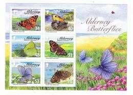 ALDERNEY, BAILIWICK OF GUERNSEY  /  BUTTERFLIES  ( Papillons ) /  Faciale : 3 £ 00 - Alderney